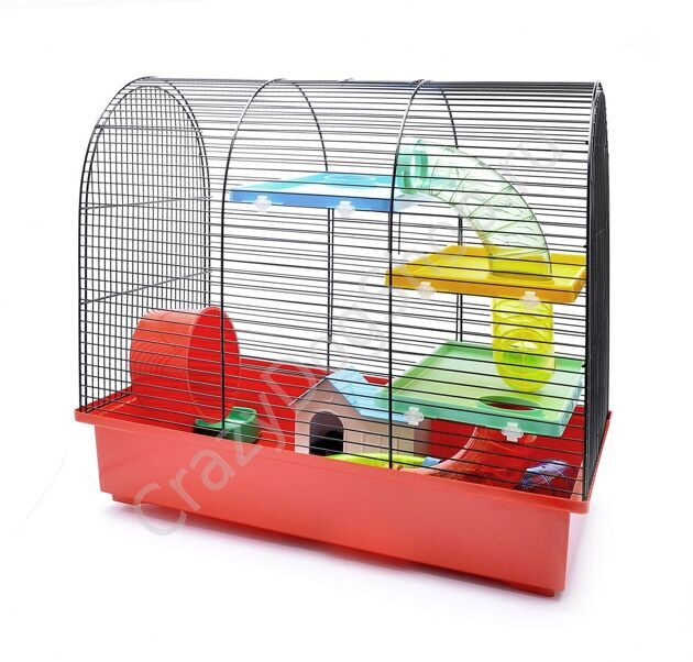 "Benelux Клетка для хомяков ""Фрида"" 49 * 32,5 * 48,5 см (Cage for hamsters frida funny)"